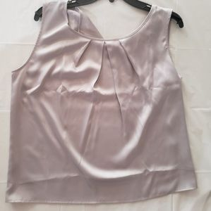 NEW WITH TAGS SZ L Satin Nine West blouse